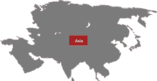 ASIA Map Images